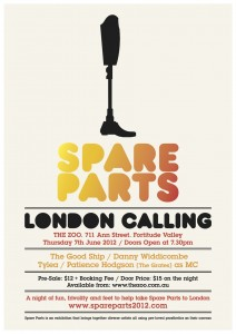 Spare Parts London Calling Poster